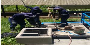 Empieza a funcionar la unidad UASB en la planta de aguas resudiales Horizontes